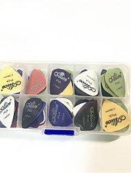 Guitar Picks 50pcs Puas Multi Matte ABS Custom Guitarra Pics Plectrum Accessories Musical Instrument Guitarpicks