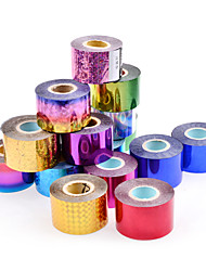 1 rolls Nail Art Foils 4cm*120m Nail Transfer Foil Paper DIY Nail Beauty Decoration Supplies