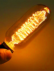 Industrial Designer Retro Edison Lamp / Tungsten Filament Incandescent Lamp 40W 220V
