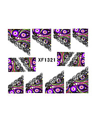 French Nail Sticker Decal Fingertip Watermark