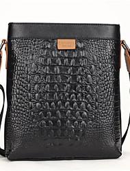 Fine Men Genuine Leather Shoulder Messenger Bag