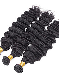 3 Pieces Loose Wave Human Hair Weaves Brazilian Texture 100grams 8inch to 30inch Human Hair Extensions