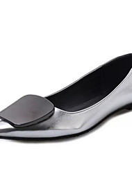Women's Flats Comfort / Flats Leatherette Outdoor / Office & Career / Casual Flat Heel OthersSilver /