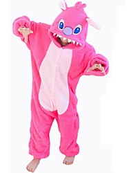 Kids Boys Girls Pajamas Autumn Winter Children Flannel Animal  Pink Stitch cartoon Pajamas for Kids Sleepwear Halloween