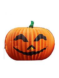 Artigos de Halloween Abóbora Festival/Celebração Trajes da Noite das Bruxas Laranja Cor Única Mais Acessórios Dia Das Bruxas Unisexo Papel