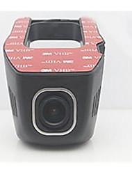 OEM de Fábrica Nenhuma tela (saída pela APP) Allwinner Cartão TF Preto Carro Câmera