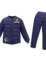 Ensemble de Vêtements Boy Imprimé Décontracté / Quotidien Spandex Hiver / Automne Bleu / Vert / Rose / Rouge