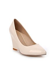 Women's Heels Spring / Summer / Fall Comfort PU Casual Wedge Heel Others / Flower Black / Green