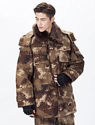 Randonnées Veste Softshell Unisexe Garder au chaud / Vestimentaire Hiver Coton Camouflage S / M / L / XL / XXL Camping / Randonnée-Sportif