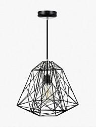 Lampe suspendue ,  Retro Rétro Peintures Fonctionnalité for Style mini MétalSalle de séjour Chambre à coucher Salle à manger Entrée