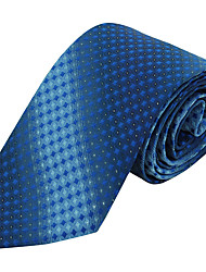 Men Wedding Party Necktie Tie Polyester Silk