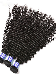 3Pcs/Lot 100g Brazilian Curly Virgin Hair Weft Weaving Virgin Brazilian Curly Hair Extensions No Shedding