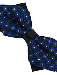 Wedding Party Polyester Silk Men Bow Tie Adjustable