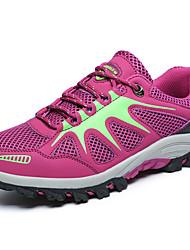 Femme-Extérieure / Sport-Rose-Talon Bas-Confort / Bout Arrondi-Sneakers-Spandex