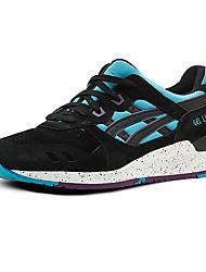 Running Shoes Asics Gel Lyte III Mens Running Sneakers Athletic Trainers Tennis Shoes Black Grey Purple