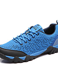Men's Sneakers / Winter Comfort Synthetic / Tulle Outdoor / Athletic Low Heel Others / Lace-upDark Green / Royal Blue /