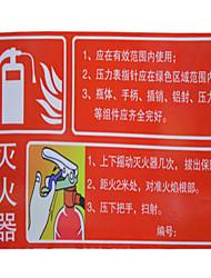 использовать огнетушителями знаки алюминиевые пластины боковой красный фон