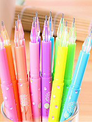 12 pcs 12 couleurs stylo gel