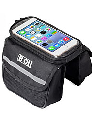 BOI Bicycle Mobile Phone Bag 5.5 Inch Touch Screen MTB Road Bike Top Frame Pannier Cycling Storage Bycicle Bolsa
