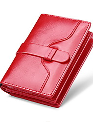 Unisex Cowhide Formal / Casual / Event/Party / Wedding / Office & Career Wallet