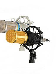 profissional microfone condensador de estúdio mic gravação de som bm800 registros dinâmicos