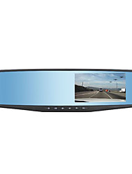 Manufacturer Direct New High-End Double Lens HD 4.3 Inch Screen Rear View Mirror Driving Recorder