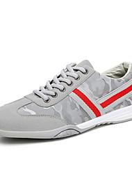 Influence Men's Fall / Winter Round Toe Suede Slip-On Casual Low Sneaker Black / Blue / Gray Walking / Sneaker