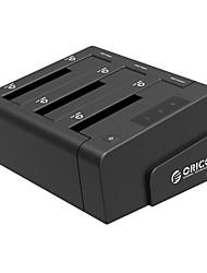 Orico Us3 6638 - C Serial Port 3.5 -Inch Sata Hard Disk Copy Three Disk Bit See Mobile Hard Disk Random Color