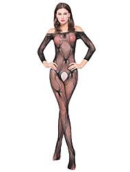 Costumes Vêtement de nuit Femme,Sexy Jacquard Spandex