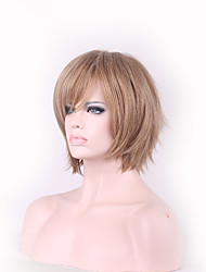 Harajuku Wig Cosplay Short Bobo Wigs For Women Blonde Ombre Wig Heat Resistant Cheap Wigs Synthetic