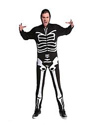 Costumes Esprit Halloween Noir Imprimé Térylène Collant/Combinaison / Plus d'accessoires