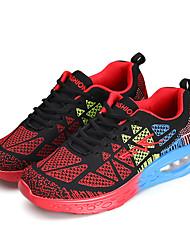 scarpe da ginnastica unisex primavera / cadere tessuto comodità casuale piana heelblue / rosa / rosso / arancio sneaker