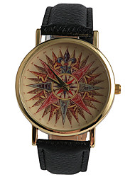 Fashion Beautiful Pattern Paper Cutting Ladies Watch