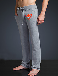 LOVEBANANA Men's Active Pants Light Gray-34011