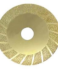 100 * 20 * 0,5 milímetros discos de corte de ouro de mármore