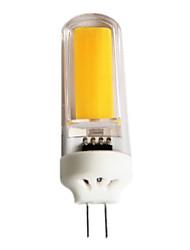 3 G4 Luminárias de LED  Duplo-Pin T 1 COB 220 lm Branco Quente / Branco Frio Regulável AC 220-240 / AC 110-130 V 1 pç