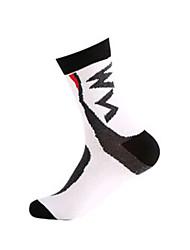 Sports Bike/Cycling Socks Unisex Sleeveless Breathable / Sweat-wicking Cotton Floral / Botanical White