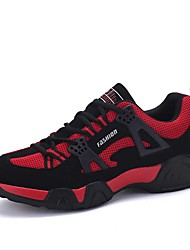 Men's Sneakers Spring / Fall / Winter Comfort Tulle Outdoor / Athletic / Casual Lace-up Black / Blue / Red Tennis /