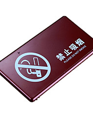 Manufacturers Selling Acrylic Smoking Licensing Office Signage