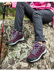 Фиолетовый / Красный-Женский-Для прогулок-Полиуретан-На плоской подошве-Туфли Мери-Джейн-Кеды