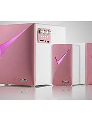 lotte M532 2.1 ordinateur haut-parleurs multimédia haut-parleur subwoofer Bluetooth haut-parleur audio à distance les femmes