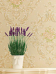 3D Wallpaper For Home Contemporary Wall Covering  Non-woven fabric Material Adhesive required Wallpaper