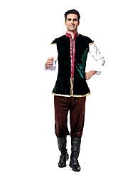 Costumes de Cosplay / Costume de Soirée Fête d'Octobre/Bière / Serveur / Serveuse Fête / Célébration Déguisement Halloween NoirCouleur
