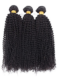 Bolin Hair 3 Pieces Kinky Curly Human Hair Bundles 8inch to 30inch Human Hair Weft