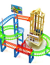 Children's Puzzle Stunt Track Park Lift Music Lighting