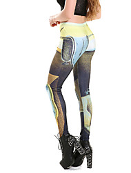 Women Print LeggingPolyester