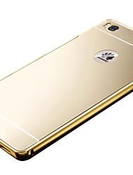 de aluminio de lujo espejo de metal PC de nuevo la cubierta del caso para el honor Huawei 6/7 de honor / compañero de 7 / p8 / P8 Lite