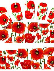 великолепный цветок наклейки для ногтей маникюр пасты маникюра аксессуары
