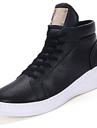 Men's Boots Spring / Fall / Winter Work & Safety / Combat Boots PU Outdoor / Athletic / Casual Black / White