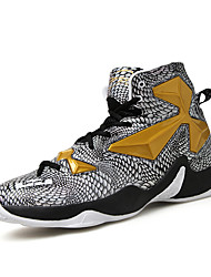Men's Basketball Shoes AIR Ankle Shoes Professional Sneakers Black/White/Gold/Sliver